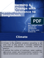 Climate Change and Bangladesh
