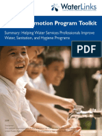 10 Steps WATSAN Promotion Program Toolkit