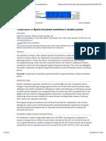 Complication of Regional Anestesia