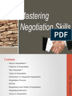 mastering negotiation skills