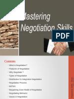 mastering negotiation skills