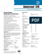 PPG Amercoat 370 Data Sheet