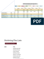 Marketing Project Plan1