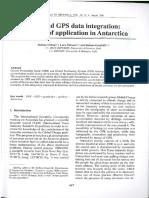 GPR and GPS data integration