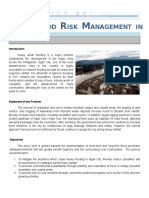 Flood Risk Management in Iligan City
