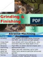 Ch-10 Grinding and Finishing