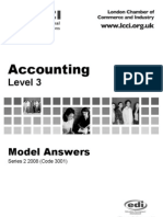 Accounting Level 3/Series 2 2008 (Code 3001)