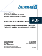 Profinet - S7-1200 Ethernet  App_note