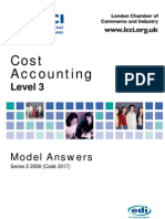 Cost Accounting Level 3/Series 2 2008 (Code 3017)