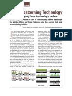 EInfochips Double Patterning Technology