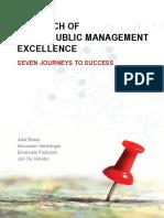 Local Public Management Excellence Seven Journeys to Success 2013