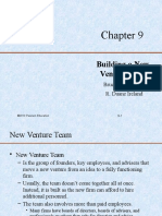 9. Building a New-Venture Team
