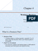 4. Writting Business Plan
