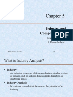 5. Industry and Competitors Analysis