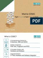 Matrix Cosec Presentation v2r1