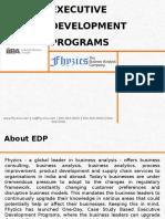 Executive Development Programs