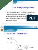 104623_Time  Division Multiplexing (Transmitter, Receiver,Commutator).ppt