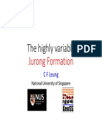 The Highly Variable Jurong Formation