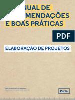 Manual Recomendações e Boas Práticas urbanismo Porto.
