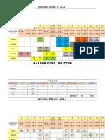 jadual waktu 2017