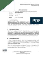 Programa Resumen DAP 01
