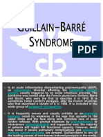 Guillain Barre Syndrome - Hassan BJ Marabong