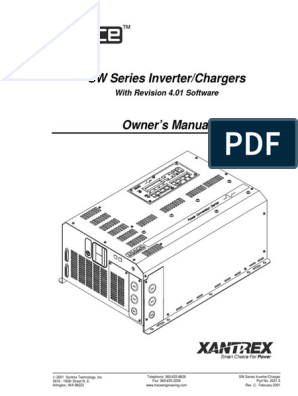 SW4548E.pdf | Battery Charger | Power Inverter on