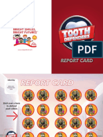 Children's Oral Health Report Card