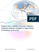 Global Cyber Lability Insurance Market Size,Demand & Opportunity