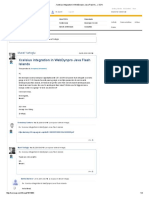 Xcelsius Integration in WebDynpro Java Flash Island