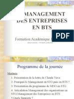 Diapo Management Des Entreprises Formation JUIN 2009