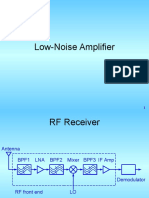 Low Noise Amplifier