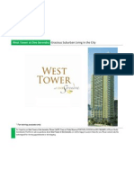 West Tower at One Serendra Condo for Sale