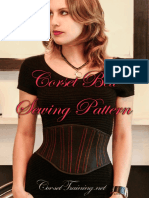 Free Corset Belt Pattern - Booklet