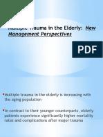 [JR] Multiple Trauma in the Elderly