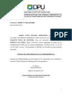Pedido de uniformização de jurisprudencia DPU