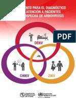 OPS, 2016 - Instrumento Para El Diagnóstico y La Atención a Pacientes Con Sospecha de Arbovirosis