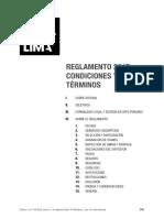 REGLAMENTO CONDICIONES Y TÉRMINOS ArtLima 2017