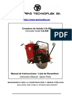 Manual Cortadora de Asfalto Ca500 Es En