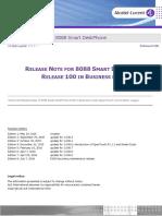 Tc2052en-Ed08 Release Note for 8088 Smart Deskphone Release 100 in Business Mode