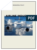 Airline Industry Sana, Nida, Mehreen.docx