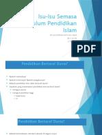 6 Isu-Isu Semasa Kurikulum Pendidikan Islam.pptx