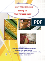 Project Proposal for Setting Up Poultry Feed Unit