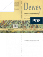 John Dewey - La Miseria de La Epistemologia Ensayos de Pragmatismo.pdf