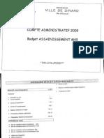 CA2009 ASSAINISSEMENT