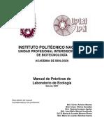 Manual de Practicas de La Boratorio de Ecologia