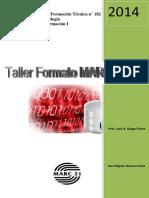 Taller Formato Marc21 1º 2014