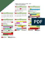 Kalender Pendidikan Smp Tp 2016-2017