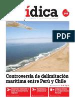 CONTROVERSIA DE DELIMITACIÓN MARÍTIMA ENTRE PERÚ Y CHILE