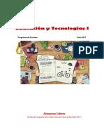 Programa Ed y Tecs 1 Libres 2017